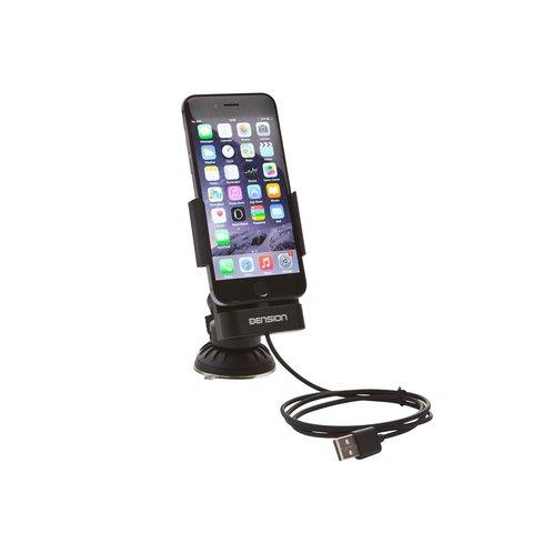 Держатель-зарядка iPhone 6 Dension IP6LCRP Превью 1