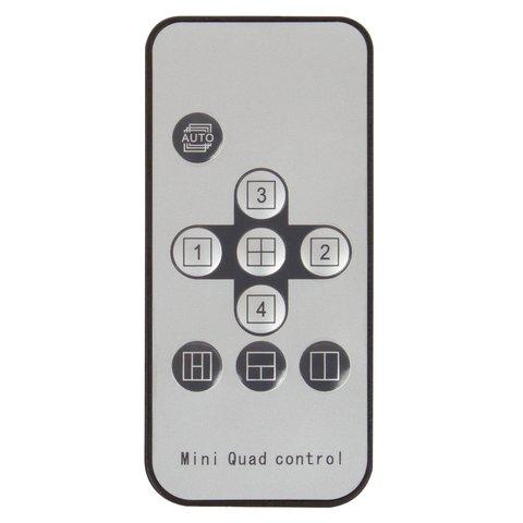 Автомобильный 4-канальный цветной видеоквадратор Превью 4