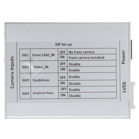 Адаптер подключения камеры заднего и переднего вида для Audi A4/A5/Q3/Q5 без системы MMI Превью 3