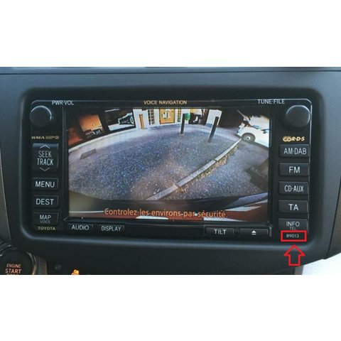 Camera Connection Cable for Toyota MFD GEN5/GEN6 DVD Navi Monitors Preview 5