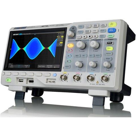 Цифровий осцилограф SIGLENT SDS1204X-E Прев'ю 2