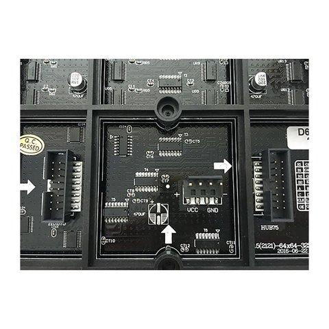 LED-модуль для реклами P2.5-RGB-SMD (320 × 160 мм, 128 × 64 точок, IP20, 1000 нт) Прев'ю 2
