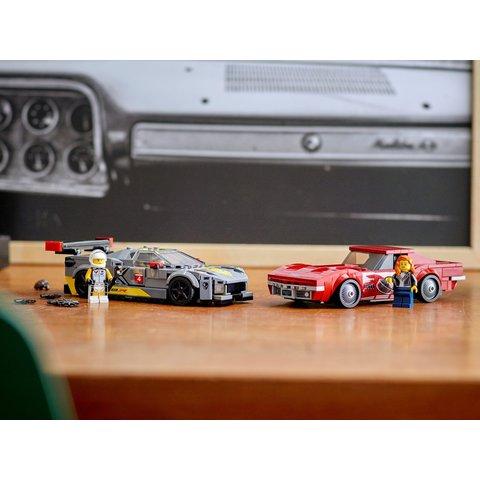 Конструктор LEGO Скоростные гонки Chevrolet Corvette 76903 Превью 10