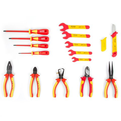 Insulated Tool Kit Pro'sKit PK-2813M Preview 2
