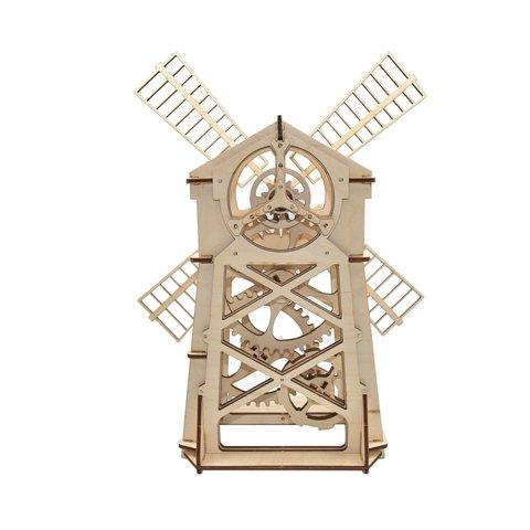 Механический 3D-пазл Wood Trick Мельница - Просмотр 3